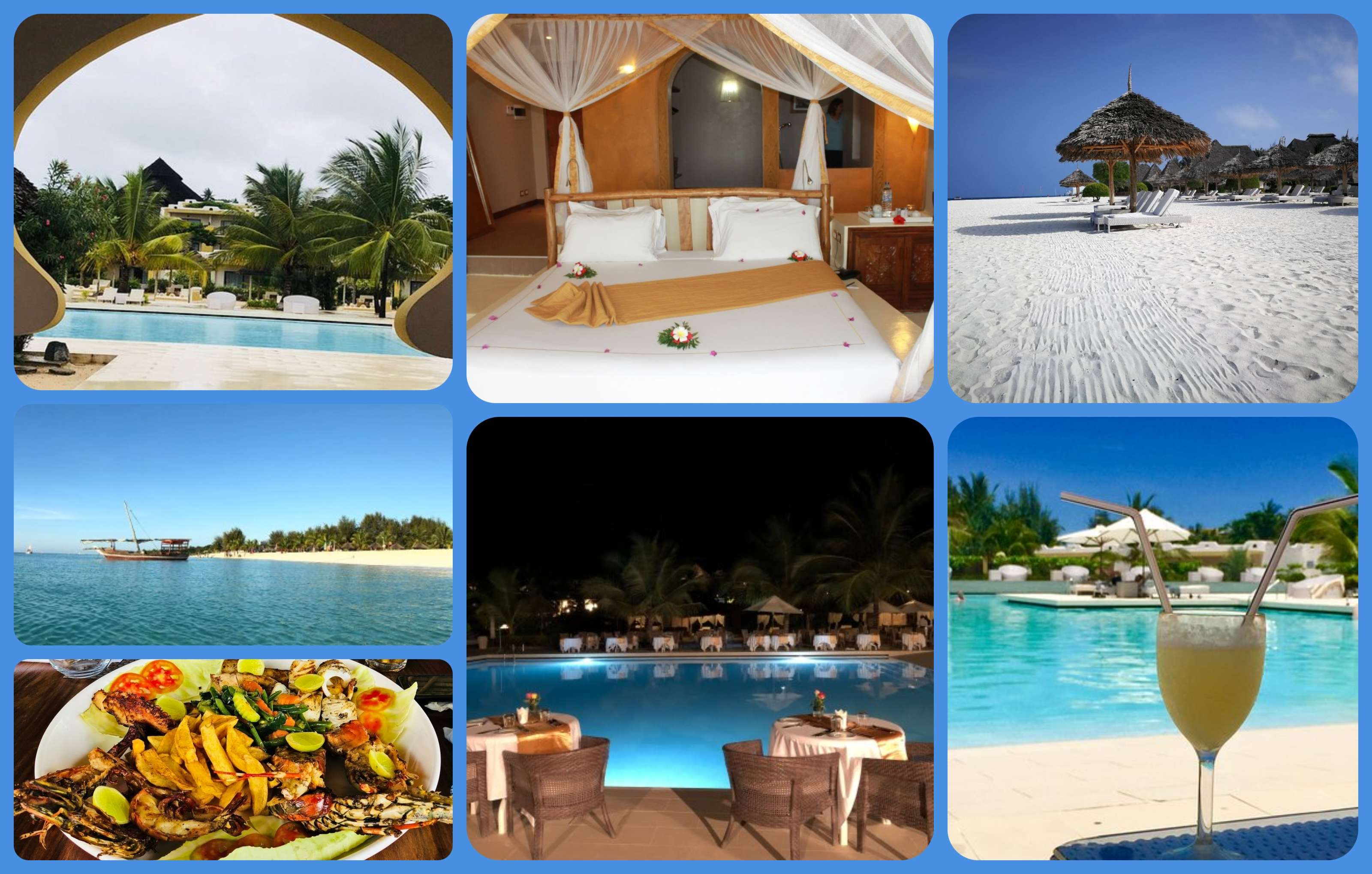 South Beach Hotels >> Gold Zanzibar Beach House and Spa, Kendwa Beach, Kendwa, Zanzibar, Tanzania