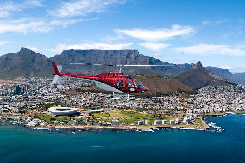 Scenic Helicopter Trips Cape Town