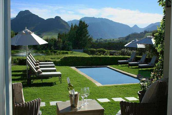 La Cabriere Country House, Franschhoek