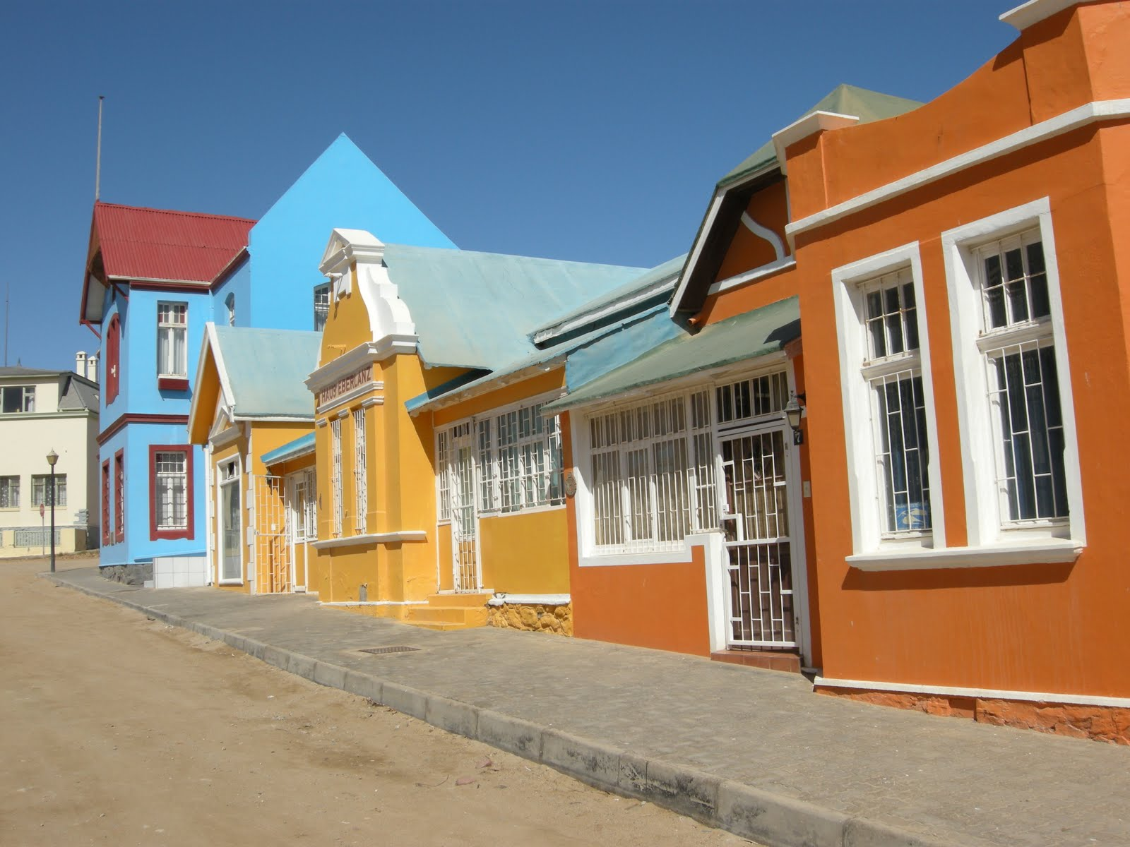 Luderitz in Namibia