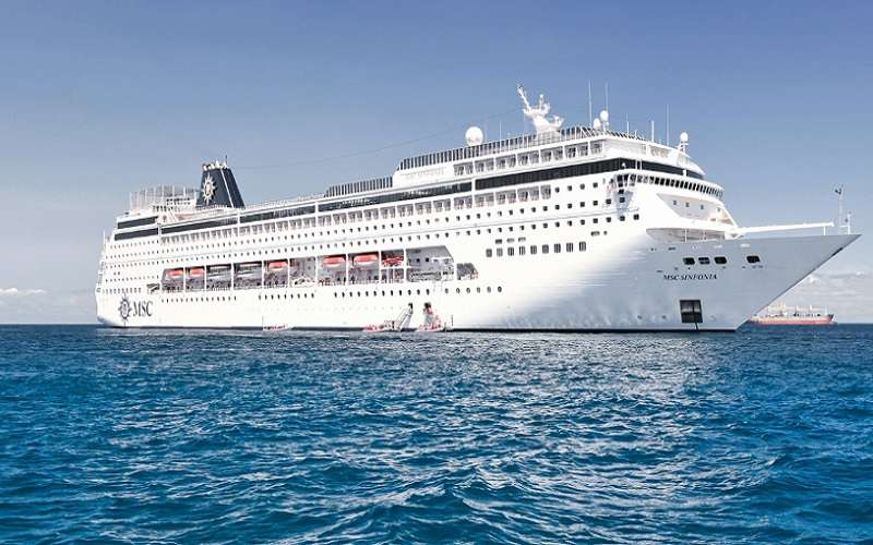 MSC Cruise  Depating Durban FOR Reunion Amp Mauritius