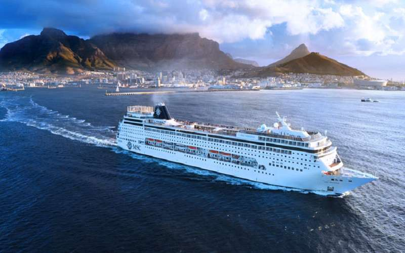 MSC Cruises - Departing Cape Town, South Africa