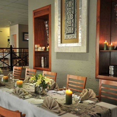 Dining at the Protea Hotel Samrand