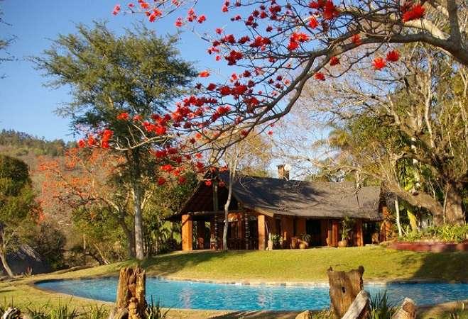 Phophonyane Falls Lodge, Swaziland