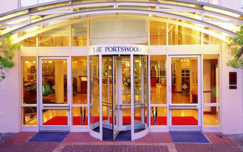Portswood Hotel Entrance